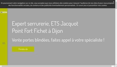 Site internet de Etablissements Jacquot