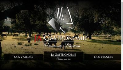 Site internet de JA Gastronomie