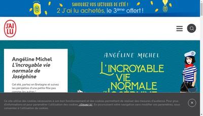 Site internet de Editions J Ai Lu