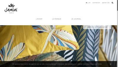 Site internet de Jamini SARL