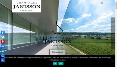 Site internet de Champagne Manuel Janisson