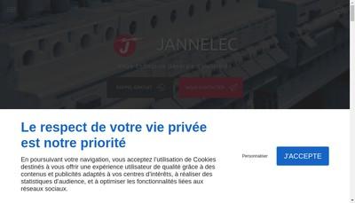 Site internet de Jannelec