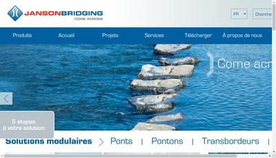 Site internet de Janson Bridging France SARL