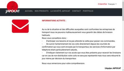 Site internet de SA Japocat