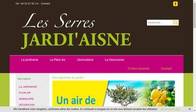 Site internet de Jardi'Aisne