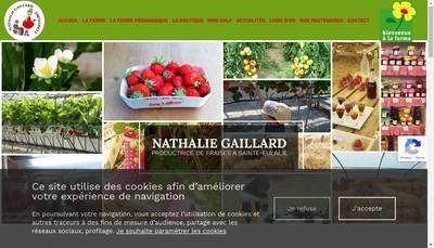 Site internet de Le Jardin Grenadine