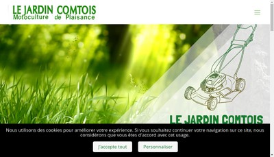 Site internet de SARL le Jardin Comtois
