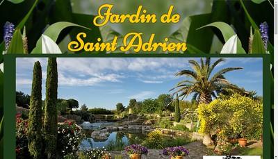 Site internet de Jardin Saint Adrien