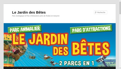 Site internet de Le Jardin des Betes