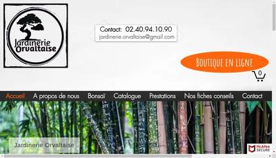 Site internet de Jardinerie Orvaltaise