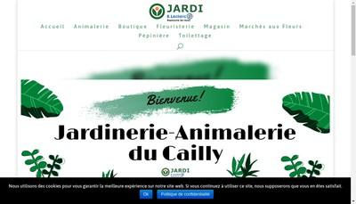 Site internet de Jardinerie du Cailly