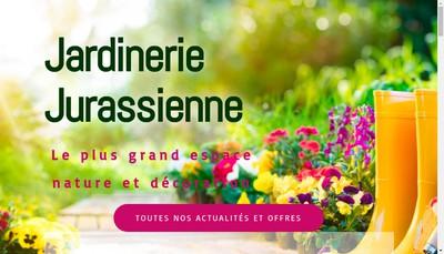 Site internet de Jardinerie Jurassienne