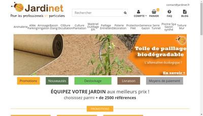 Site internet de SARL le Jardinet