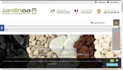 Site internet de Jardinoa
