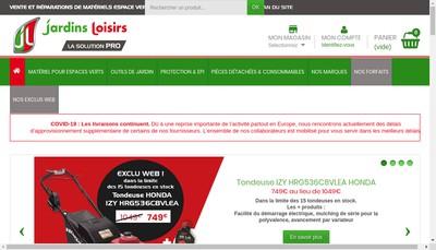 Site internet de Jl Outillage - Jardins Loisirs