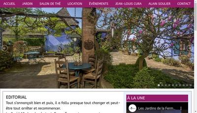 Site internet de Clair Obscur-Jean-Louis Cura, Paysagiste