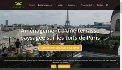 Site internet de Orangerie - Nd et Ond