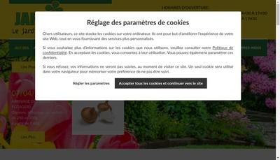 Site internet de Jardipromo