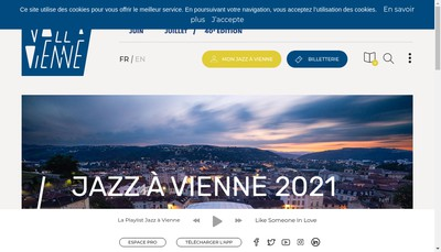 Site internet de Jazz a Vienne