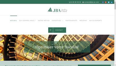Site internet de Jba Audit & Conseil