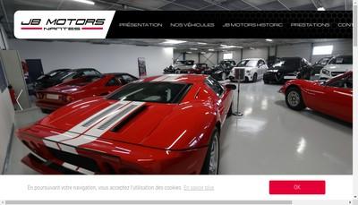 Site internet de Jb Motors