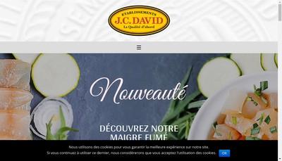 Site internet de Etablissements Jc David