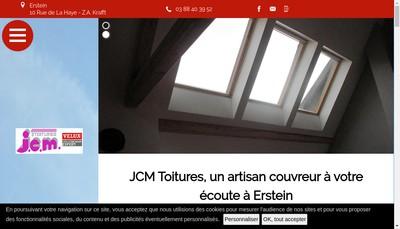 Site internet de Jcm