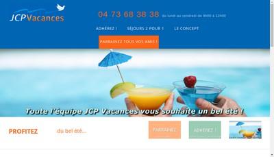 Site internet de Jcp Vacances