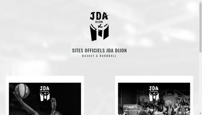 Site internet de JDA Dijon Basket