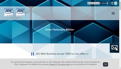 Site internet de Jdc Midi-Pyrenees SARL