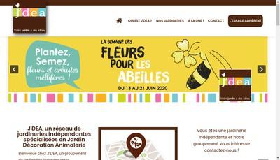 Site internet de J'Dea
