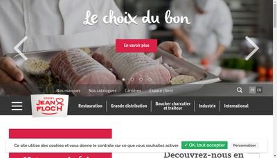 Site internet de Societe Jean Floch