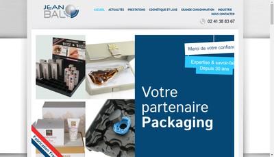 Site internet de SAS Jean Bal