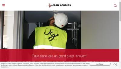 Site internet de Etablissements Jean Graniou