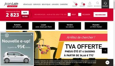 Site internet de Jean Lain Rent