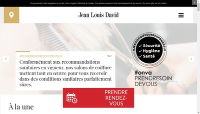 Site internet de Jean-Louis David