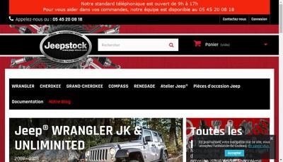 Site internet de Jeepstock