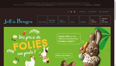 Site internet de Jeff de Bruges Exploitation