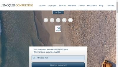 Site internet de Jencquel Compagny
