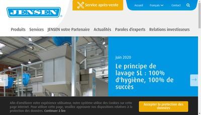 Site internet de Jensen France