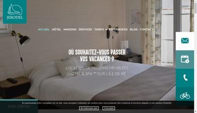 Site internet de Je Ro Del