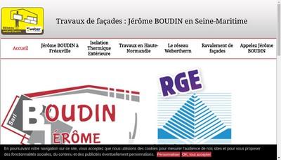 Site internet de Entreprise Jerome Boudin