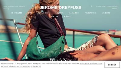Site internet de Societe 110 Jerome Dreyfuss