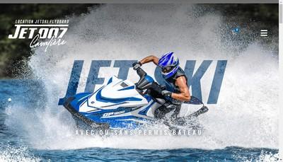 Site internet de Jet 007