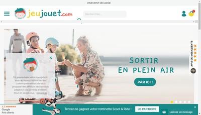 Site internet de Jeujouet Com