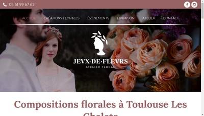 Site internet de Jeux de Fleurs