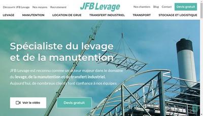 Site internet de Societe Nouvelle Jfb Levage