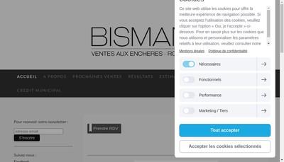 Site internet de Bisman