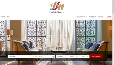 Site internet de Jjw Luxury Hotels