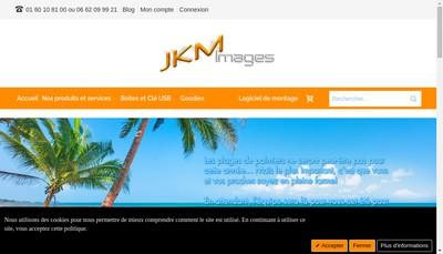 Site internet de JKM Images